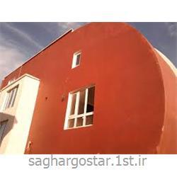 رنگ قرمز ساختمان از نانو عایق<