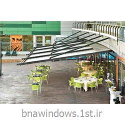 سقف های متحرک برقی پارچه ای مدل Mn3 بنا نقش ارس<