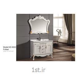 کابینت تمام pvc دستشویی و حمام مدل KD 8003<