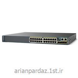 سوییچ شبکه 24 پورت سیسکو  Cisco  2960S-24PS-L<
