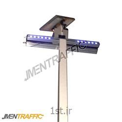 پلیس مجازی LED خورشیدی 100 سانت دو طرفه ME-2008<