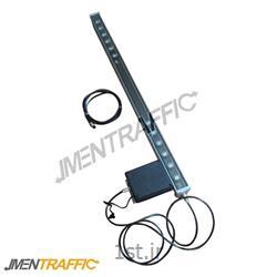 پلیس مجازی LED خورشیدی 100 سانت یک طرفه ME-2007<