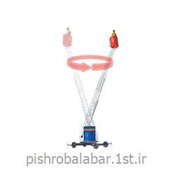 نردبان کشویی با چرخش 360 درجه مدل PMLR<