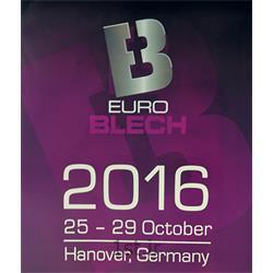 فراخوان نمایشگاه تکنولوژی و پردازش فلزات هانوفر آلمان EuroBlech 2016<