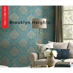 کاغذ دیواری کلاسیک طرح دار اداری تجاری آمریکایی Brooklyn Heights<