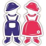 لوگو شرکت تولید پوشاک و لباس زیر نوزاد نیلی