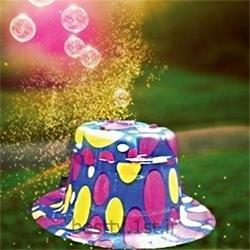 کلاه حباب ساز جادویی<