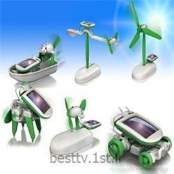 کیت آموزشی ساخت 6 روبات خورشیدی<