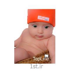 کلاه نوزادی استرچ تاپ لاین<
