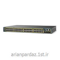 سوییچ شبکه سیسکو 48 پورت Cisco  2960S-48TS-L<