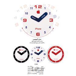 ساعت دیواری تبلیغاتی(مدل آدونیس)ساعت متحرک روی دیوار CW82