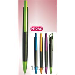 خودکار پلاستیکی تبلیغاتی گیره رنگی