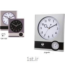ساعت دیواری تبلیغاتی (دماسنج دار)