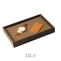ست هدیه مدیریتی تبلیغاتی 2 تیکه ساعت، فندک SM59