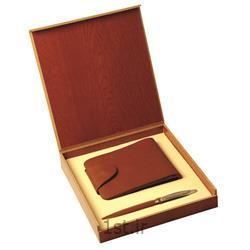 ست مدیریتی کیف جیبی و خودکار فلزی تبلیغاتی SM60