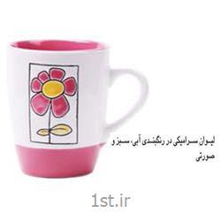 لیوان تبلیغاتی سرامیکی (رنگبندی) MC41