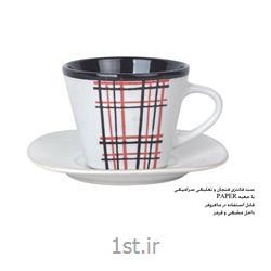 ست لیوان سرامیکی تبلیغاتی (فنجان و نعلبکی) MC29