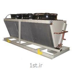 چیلر هوایی دو پارچه (کمپرسور اسکرو) split air cooled water chiller - screw compressor