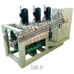 چیلر صنعتی تراکمی آبی (کمپرسور اسکرال) R134a water cooled water chiller - reciprocating compressor