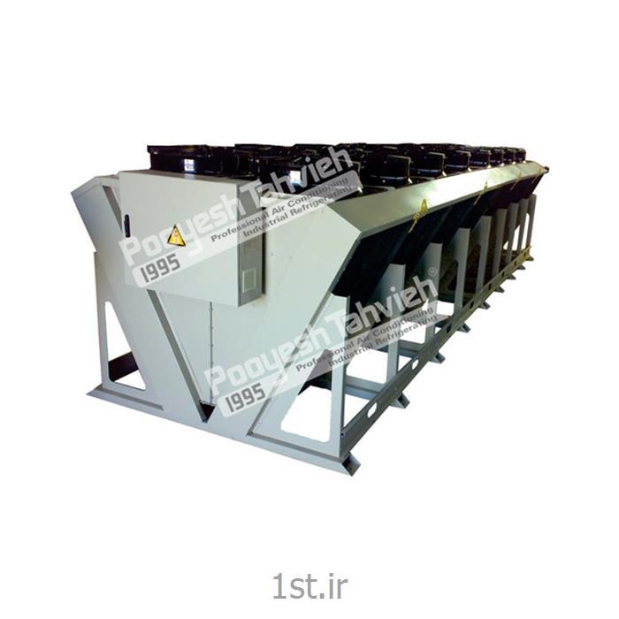 درای کولر 800 کیلو وات خنک کن هوایی مایعات صنعتی Dry cooler 800 KW