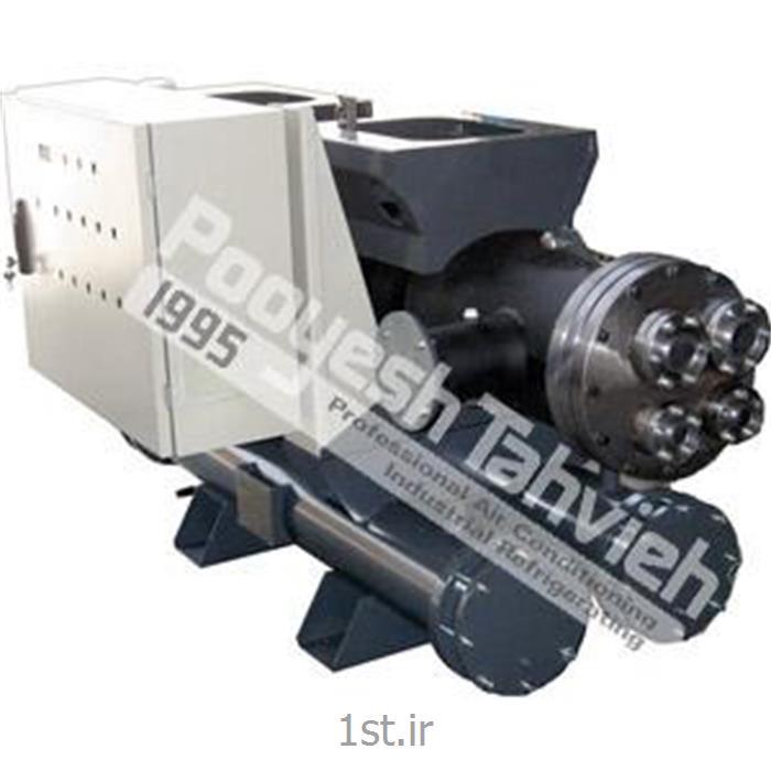 عکس مبدل حرارتیاواپراتور آبی (پوسته و کویل) Evaporator - shell & coil