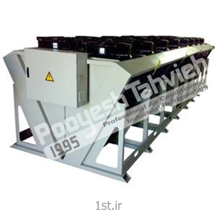درای کولر 900 کیلو وات خنک کن هوایی مایعات صنعتی Dry cooler