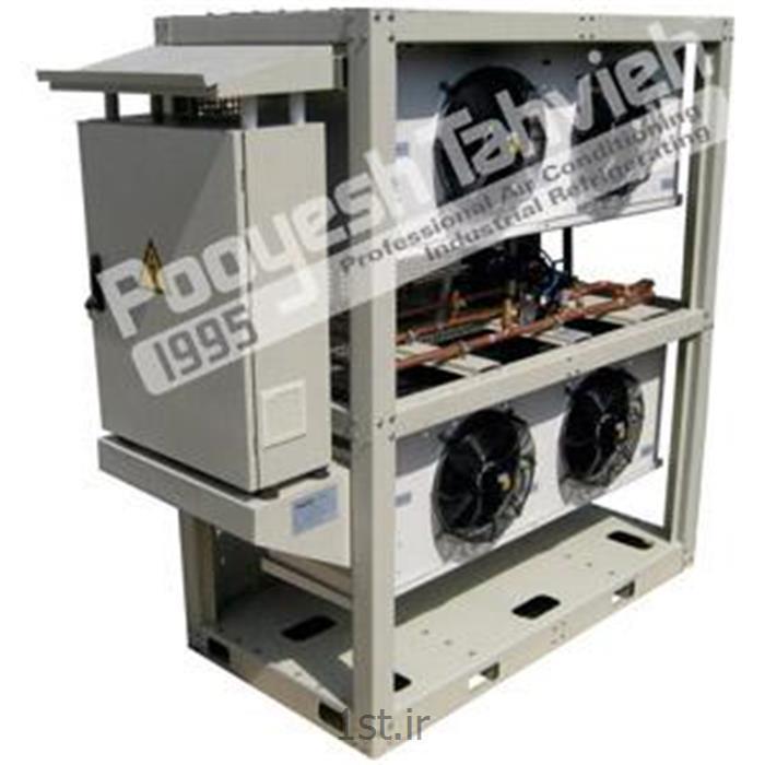 عکس تجهیزات تولید گازتبخیر کننده دی اکسید کربن Co2 مایع 150 کیلو گرم بر ساعت شرکت پویش تهویه - Co2 economy vaporizer