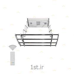 رخت آویز سقفی و برقی سایز کوچک مدل HCD-80-رنگ سفید