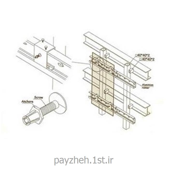 عکس طراحی ساختماننمای سنگ و سرامیک خشک