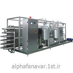 مبدل حرارتی لوله ای (پاستوریزاتور) مدل Alpha TITP2000