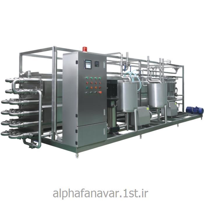 عکس پاستوریزاسیونمبدل حرارتی لوله ای (پاستوریزاتور) مدل Alpha TITP2000