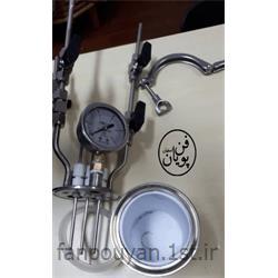 عکس راکتور (رآکتور)رآکتور اتوکلاو جهت مطالعات الکتروشیمیایی با فشار 6 بار
