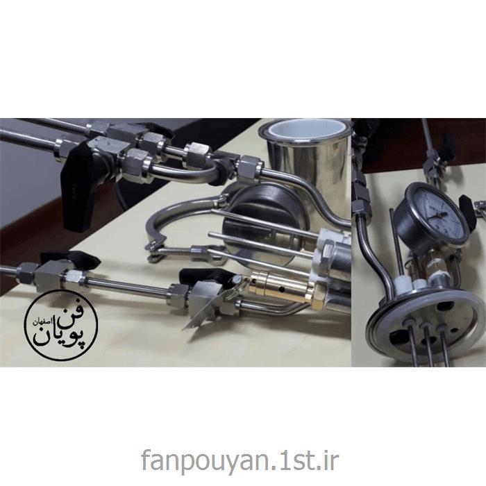 رآکتور اتوکلاو جهت مطالعات الکتروشیمیایی با فشار 6 بار