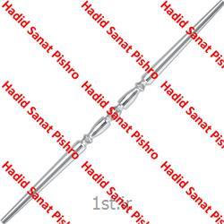عکس نرده و حفاظلوله نرده آهن آبکاری صراحی کد 09