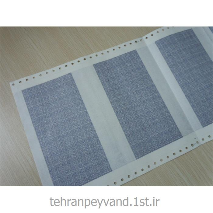 عکس کاغد خود کپی / بدون کاربن ( کاربن لس )فرم پیوسته 100 ستونی 2 نسخه کاربن لس