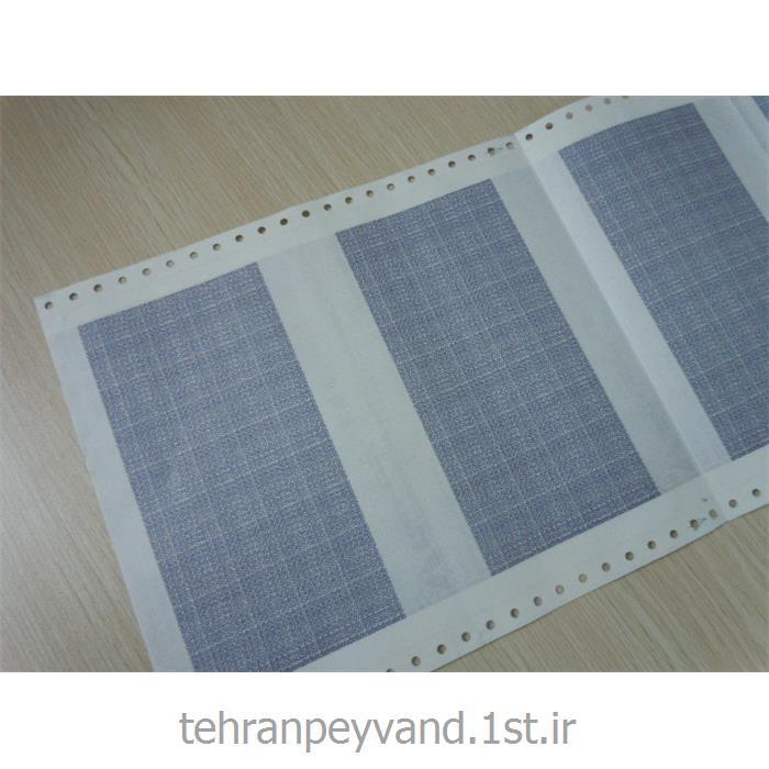 عکس کاغد خود کپی / بدون کاربن ( کاربن لس )فرم پیوسته 80 ستونی 4 نسخه کاربن لس