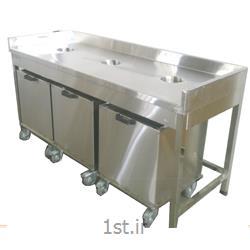 عکس سایر تجهیزات هتل و رستورانمیز غذای برگشتی صنعتی استیل