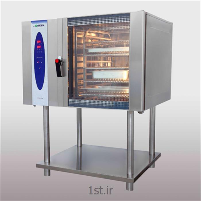 عکس تجهیزات پختفر پخت ترکیبی استیل صنعتی تیان