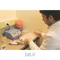 عکس خدمات درمانی آزمایشگاهیالکتروفورز هموگلوبین و پروتئین