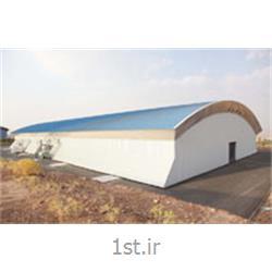 عکس پانل فشردهپانل سقفی سالن نمایشگاهی کبیر پانل
