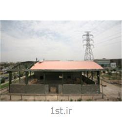 عکس پانل فشردهپانل سقفی در سازه های قوسی کبیر پانل