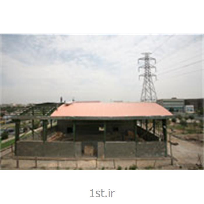 کبیر پانلکانکس با پوشش ساندویچ پانل; پانل سقفی در سازه های قوسی کبیر پانل