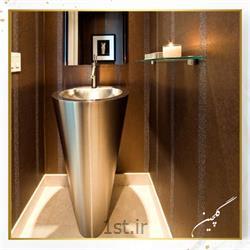 هتلینگ و تجهیز سرویس بهداشتی با روشویی پایه بلند