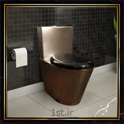 توالت فرنگی استیل زمینی مدل TG2