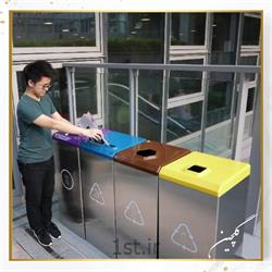 سطل زباله استیل گلچین مدل TG6-1
