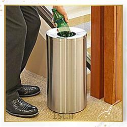 سطل زباله استیل معابر گلچین مدل TG6-1