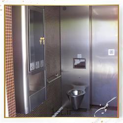 توالت فرنگی وال هنگ تمام استیل مدل TG2-2