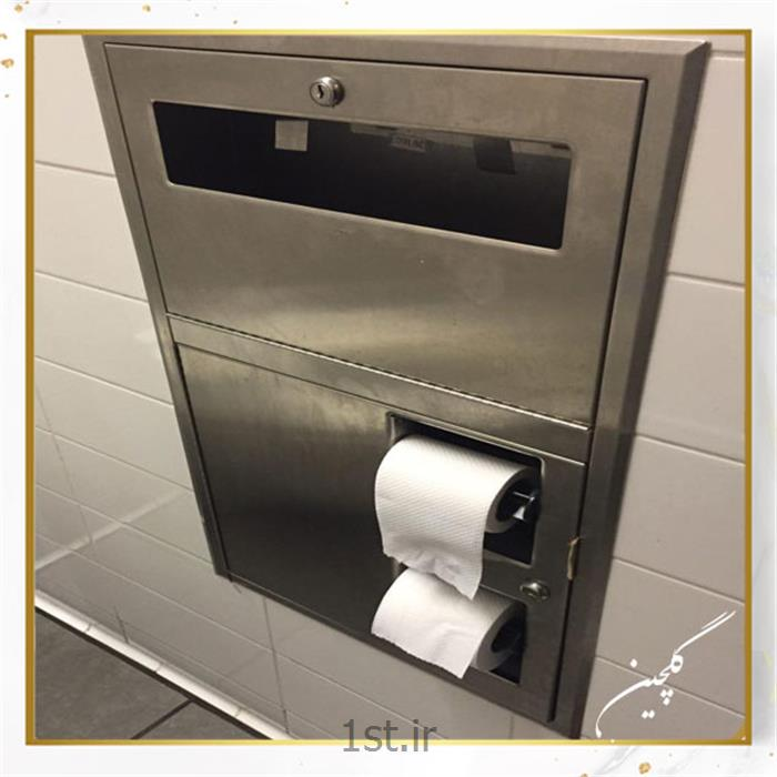 عکس سرویس بهداشتیسرویس دستگاه دستمال کاغذی اتوماتیک رول بازکن استیل
