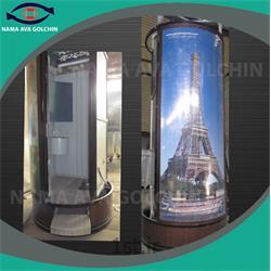 سرویس بهداشتی آلومینیوم و فولادی ایرانی تک چشمه مدل TG5-1