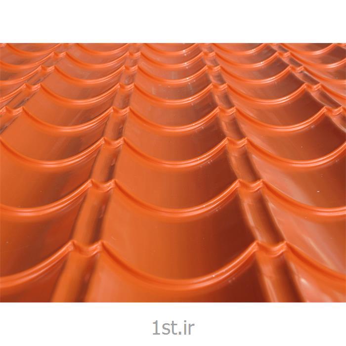 عکس ورق فولادیورق رنگی نارنجی 2004